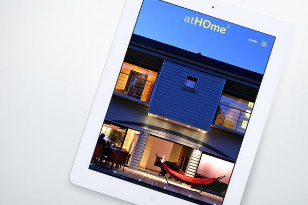 Mise en ligne site internet Maison atHome